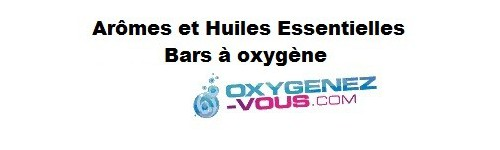 Flavourings for oxygen bars