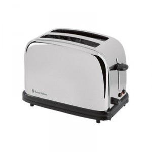 Russell hobbs 13766 grille pain 2 tranches tiroir ramasse miettes bouton d 39 annulation - Grille pain russel hobbs ...