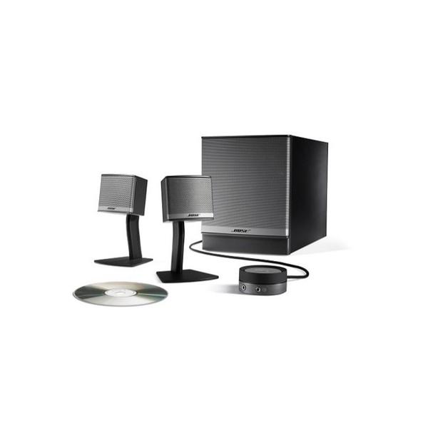 bose companion 3 haut parleurs filaire filaire 2 haut parleurs caisson de graves. Black Bedroom Furniture Sets. Home Design Ideas