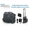 Philips EverGo Respironics d'occasion - Concentrateur d'oxygène portable avec 2 batteries