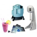 Package oxygen Mixer Cocktails with oxygen for sale 1 generator, 1 mixer, 500 sachets oxygenated drink