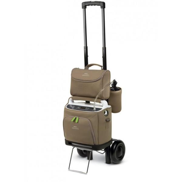 chariot pour concentrateur g n rateur d 39 oxyg ne philips. Black Bedroom Furniture Sets. Home Design Ideas