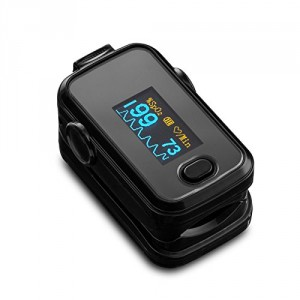Finger Pulse Pulsoximeter SPO2 Puls Herzfrequenz mit OLED-monitor