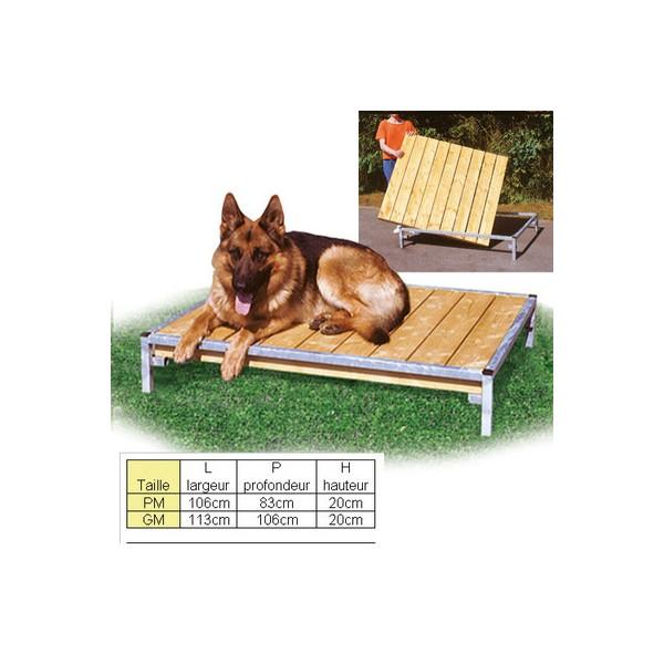 POLYTRANS banc de couchage pour chien