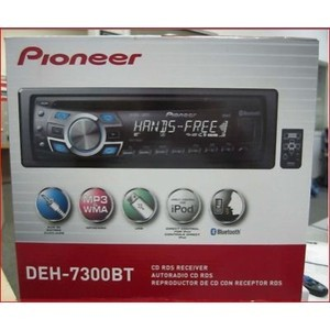 pioneer deh 7300bt lecteur cd lecteur cd 4 x 50 watt. Black Bedroom Furniture Sets. Home Design Ideas