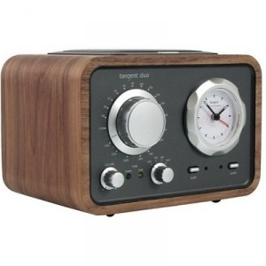 Tangent Duo Clock Radio