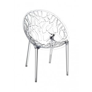 Chaise Polycarbonate CHAISE CRYSTAL Transparent