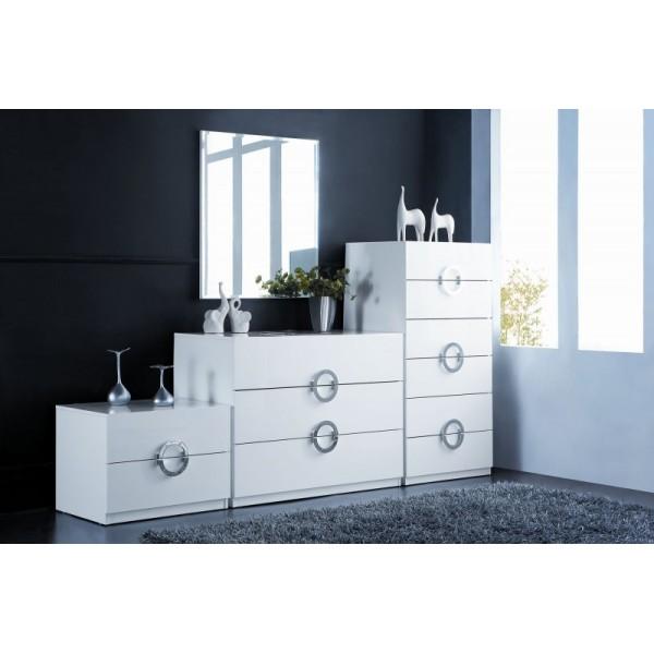 bar a oxygene hvid sovev relsesm bler vega. Black Bedroom Furniture Sets. Home Design Ideas