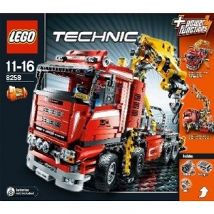 lego 8258 construction set technic lkw kran. Black Bedroom Furniture Sets. Home Design Ideas