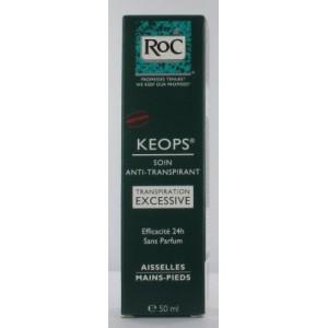 roc keops soin transpiration excessive tube de 50ml. Black Bedroom Furniture Sets. Home Design Ideas